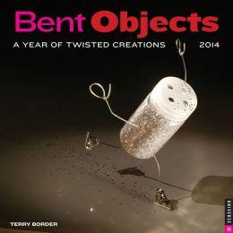 2014 Bent Objects Wall Calendar