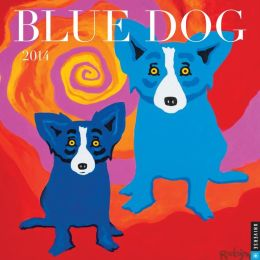 2014 Blue Dog Wall Calendar