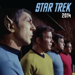 2014 Star Trek Wall Calendar