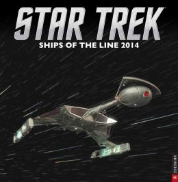 2014 Star Trek Wall Calendar: Ships of the Line