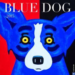 2015 Blue Dog Wall Calendar