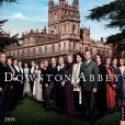 Book Cover Image. Title: 2015 Downton Abbey Wall Calendar, Author: NBC Universal