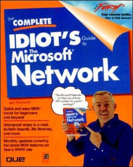 Complete Idiot's Guide to the Microsoft Network