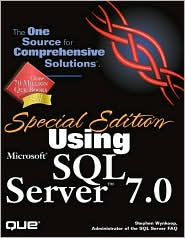 Special Edition Using Microsoft SQL Server 7.0