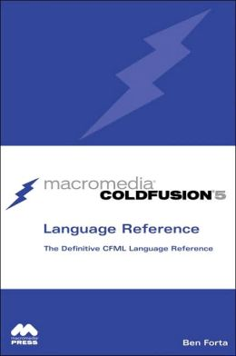 ColdFusion 5 Language Reference