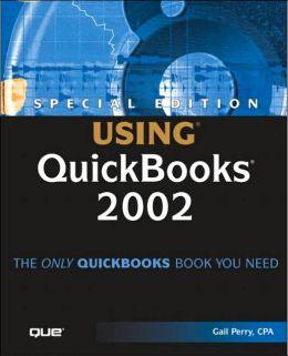 Special Edition Using QuickBooks 2002