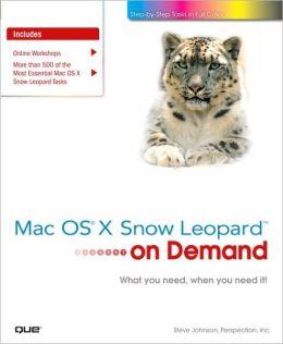 Mac OS X Snow Leopard On Demand (On Demand Series)