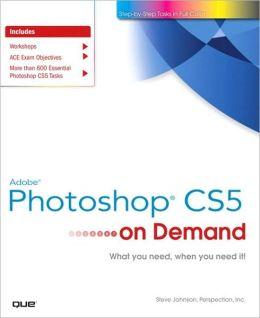 Adobe Photoshop CS5 on Demand (On Demand Series)