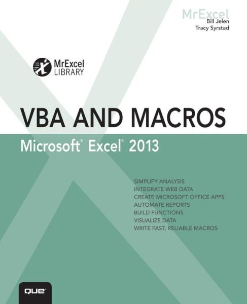 Excel 2013 VBA and Macros