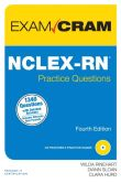 Book Cover Image. Title: NCLEX-RN Practice Questions Exam Cram, Author: Wilda Rinehart
