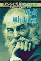 Walt Whitman (Bloom's Biocritiques Series)