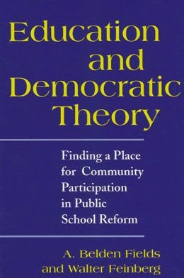 Education and Democratic Theory