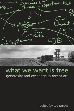 What We Want Is Free: Generosity and Exchange in Recent Art (Suny Series in Pop Mosern Culture)