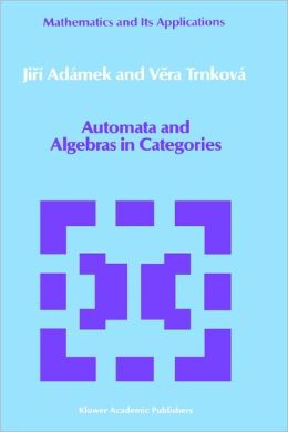 Automata and Algebras in Categories
