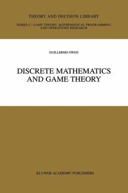Discrete Mathematics and Game Theory