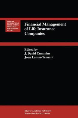 Financial Management of Life Insurance Companies