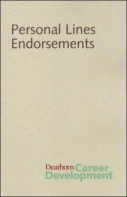 Personal Lines Endorsement