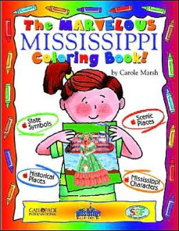 The Magnificent Mississippi Coloring Book