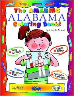 The Cool Alabama Coloring Book