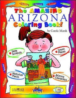 The Cool Arizona Coloring Book
