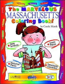 The Cool Massachusetts Coloring Book