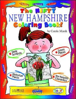 The Cool New Hampshire Coloring Book