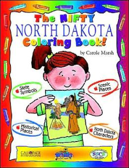 The Cool North Dakota Coloring Book