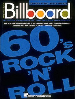 Billboard Top Rock 'n' Roll Hits of The 60's - Piano/Vocal/Guitar