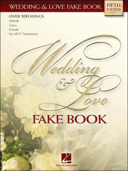 Wedding and Love Fake Book