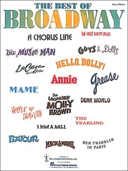 The Best of Broadway: Easy Piano