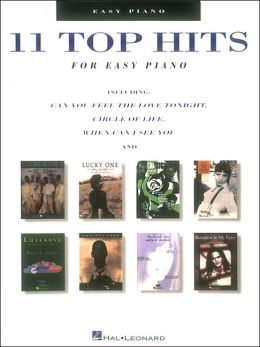 Eleven Top Hits for Easy Piano
