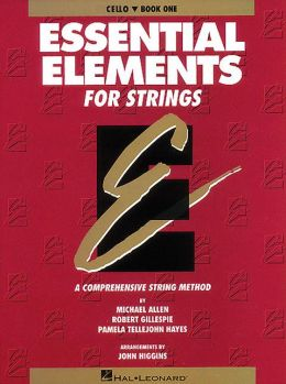 Essential Elements for Strings: Cello, Book 1