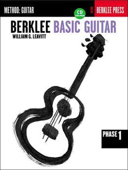 Berklee Basic Guitar - Phase 1: Book/Cassette Package