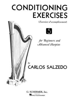 Conditioning Exercises (Exercices d'assouplissement) No. 5 for Beginners and Advanced Harpists