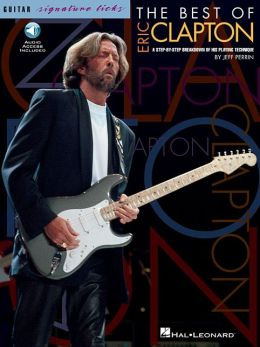 Eric Clapton: The Best of Signature Licks - Book/CD (Sheet Music)