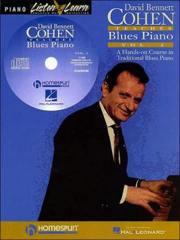 David Bennett Cohen Teaches Blues Piano, Volume 2