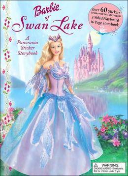 Barbie of Swan Lake: A Panorama Sticker Storybook