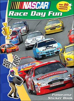 Race Day Fun: NASCAR Panorama Sticker Storybook