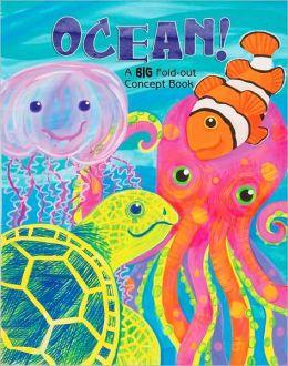 Ocean!: A Big Fold-Out Flap Book