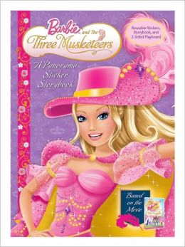 Barbie and the Three Musketeers: Panorama Stickerbook