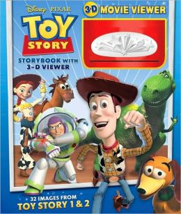 Toy Story Storybook and 3-D Viewer