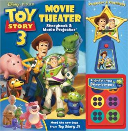 Toy Story 3 Movie Theater Storybook & Movie Projector