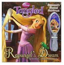 Disney Tangled: Rapunzel's Dream Storybook with Musical Hairbrush