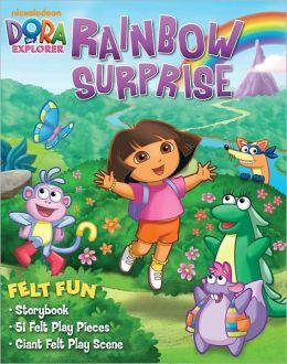Dora the Explorer Rainbow Surprise: Felt Fun Storybook
