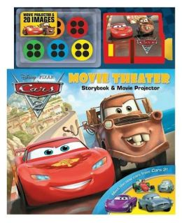 Disney Pixar Cars 2 Movie Theater: Storybook & Movie Projector