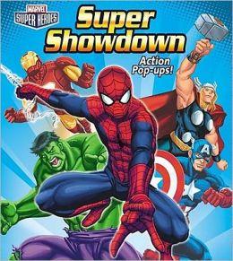 Marvel Super Heroes Super Showdown Action Pop-Ups!