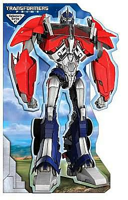 Transformers Optimus Prime: Stand-up Mover