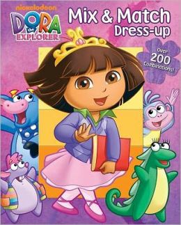 Dora the Explorer Mix & Match Dress-up