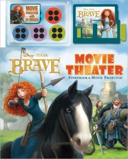 Disney Pixar Brave Movie Theater: Storybook and Movie Projector