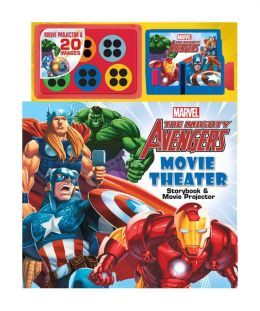 The Mighty Avengers Movie Theater Storybook & Movie Projector